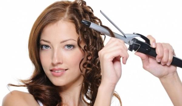Piastra per capelli ricci