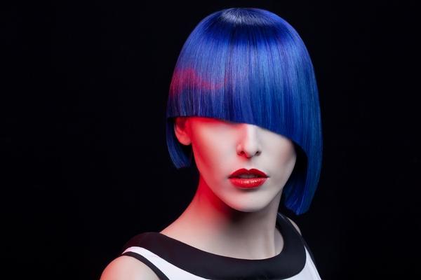 Come fare i capelli blu