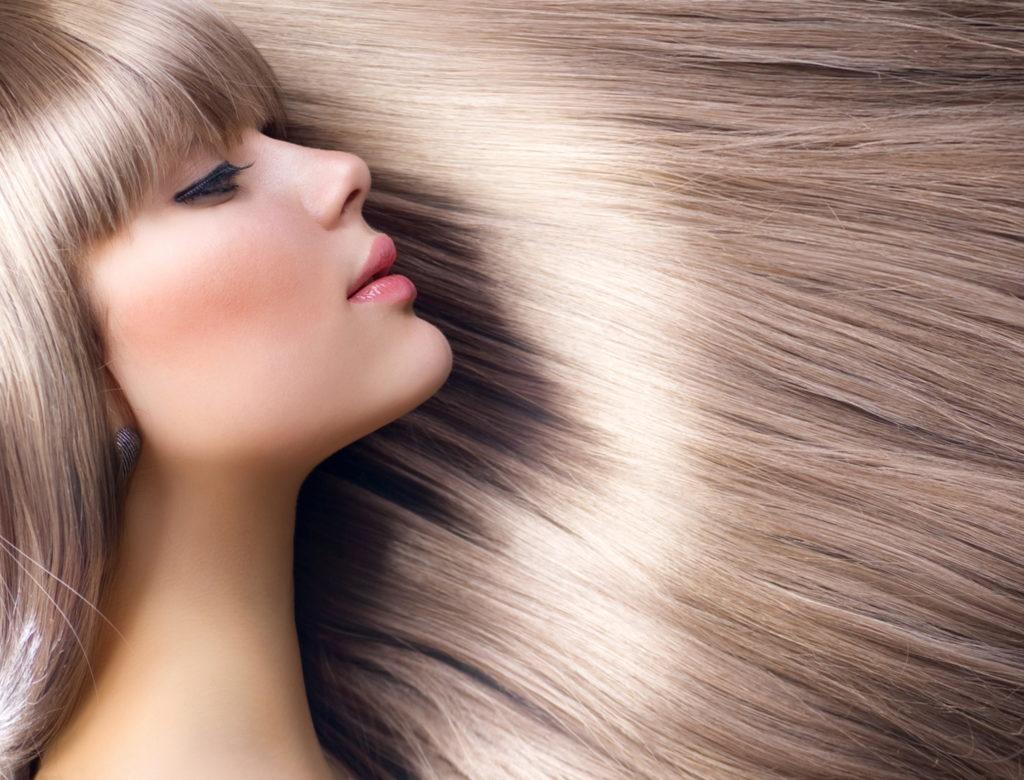 Come rendere i capelli lucidi