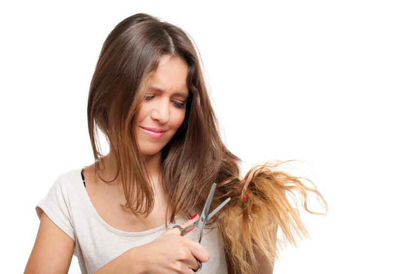 Come riparare i capelli bruciati