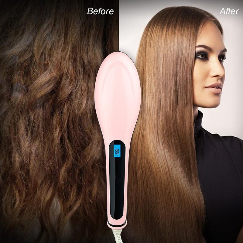 Come usare la spazzola lisciante per capelli