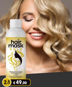 HAIR GOLD MASK 2X49